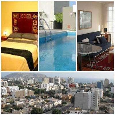 Hospedaje en apartamentos de uno dos y tres habitaciones