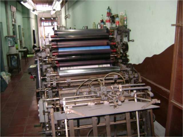 Excelente maquina de imprenta offset cualquier prueba