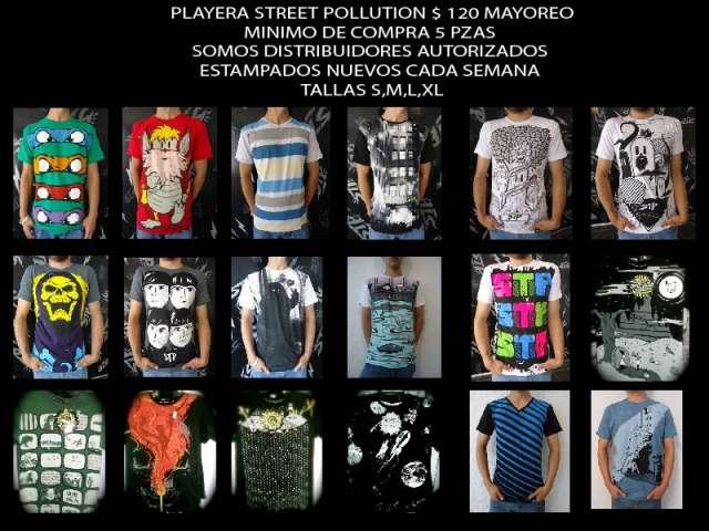 Playera street pollution comienza tu negocio