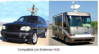 Internet vía satélite-internet satelital