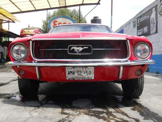 Fotos de Ford mustang 1967 hard top automatico rojo impecable 2