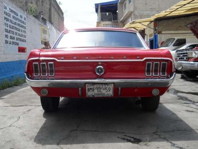Fotos de Ford mustang 1967 hard top automatico rojo impecable 3