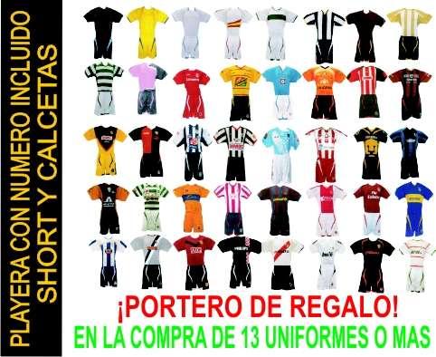 de76320bd3462 Uniformes de futbol dry-fit desde  144.00 en existencia! en La Piedad -  Artículos deportivos