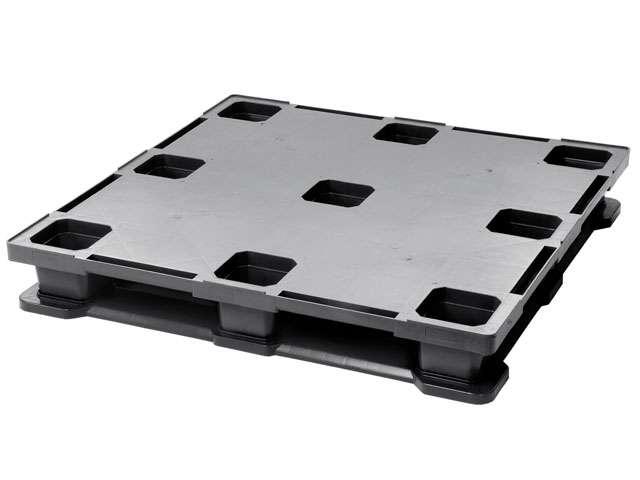 Tarimas de plastico superficie plana- industrial pallets