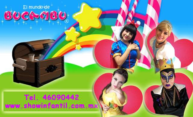 Show infantil princesas para fiesta infantil en mexico