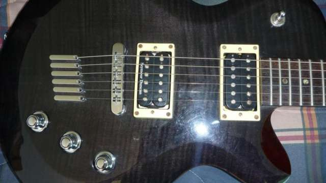 Fotos de Guitarra yamaha aes620 con accesorios (paquete) 3