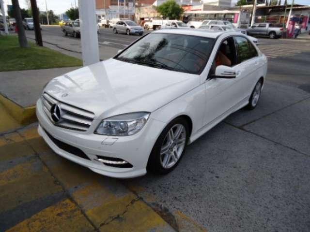 Fotos de Mercedes benz clase c casi nuevo, blanco, una maravilla 1