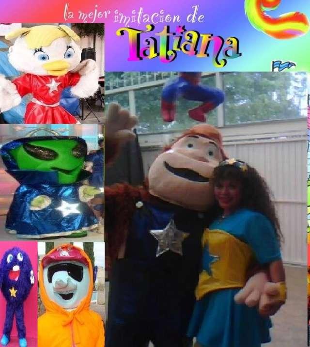 Show infantil de la imitadora de tatiana