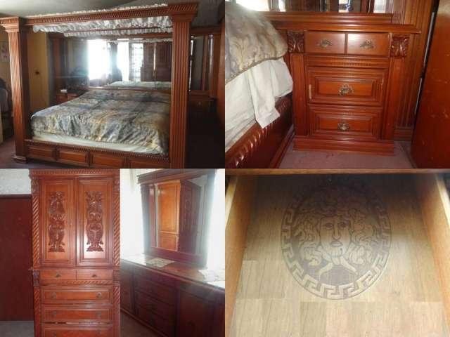 Elegante recámara versage en fina madera en Guadalajara - Muebles ...