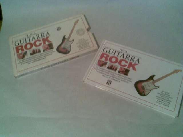 """Toca guitarra rock. """"libro y cd"""" un metodo audiovisual"""