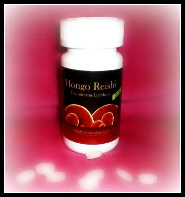 Hongo reishi tabletas producto 100% natural sin contradicciones medicas ni efectos secundarios