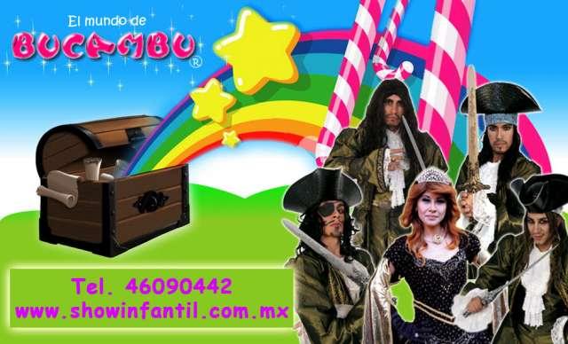 Show infantil de piratas para eventos
