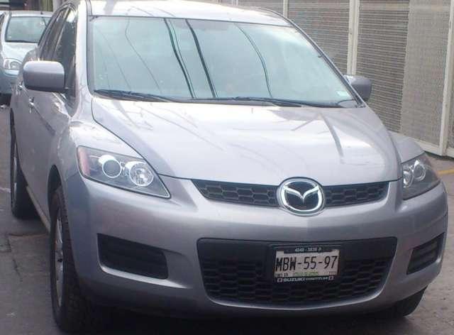 Mazda cx-7 plata 2008 automatica