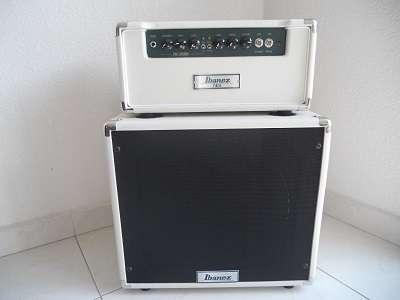 Remato amplificador tube screamer ibanez con gabinete 1x12