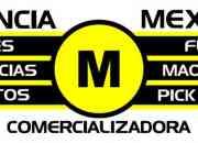 AGENCIA MÉXICO, LEGALIZACIÓN DE VEHICULOS, LANCHAS, MAQUINARIA PESADA Y LIGERA, MAQUINARIA AGRÍCOLA, MENAJES DE CASA.