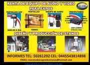 RENTA DE PANTALLAS LCD Y PLASMAS URGENTES LAS 24 HORAS
