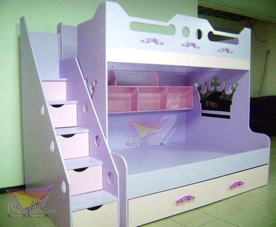 Recamaras y muebles infantiles kids world
