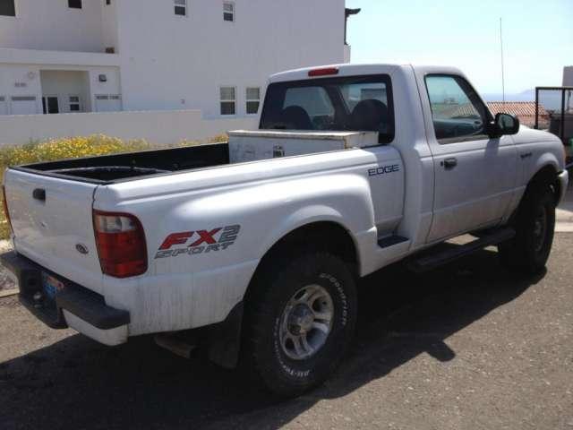 2001 pick up ford ranger edge fx2 $3,600 dolares