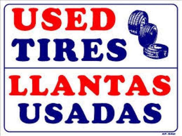Llantas usadas por mayoreo / autos y camiones