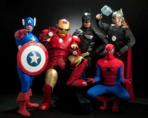 Show de super heroes y muchos mas