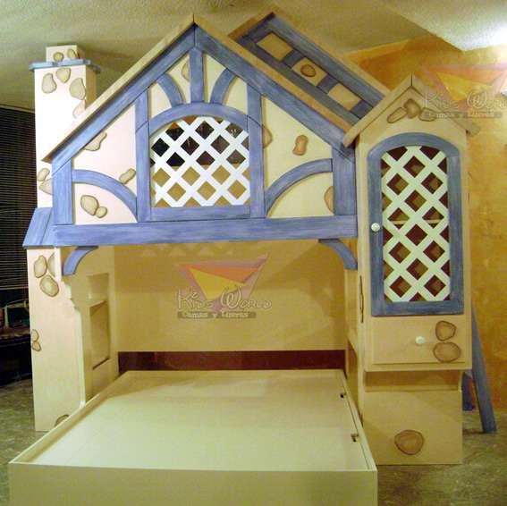 Camas, literas y muebles infantiles