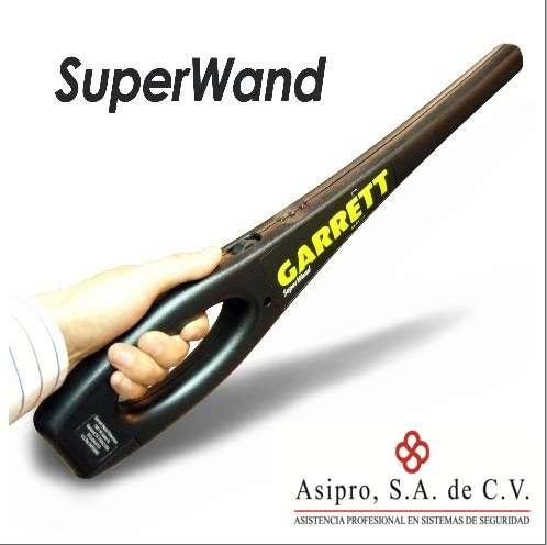 Detector de metales super wand