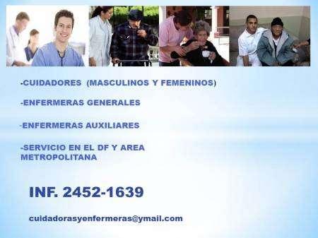 Servicio de cuidadoras y enfermeria