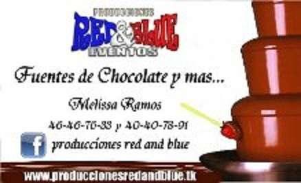 Fuentes de chocolate y mesa de dulces y salados en monterrey