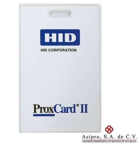 Tarjeta de control de acceso proxcard ii