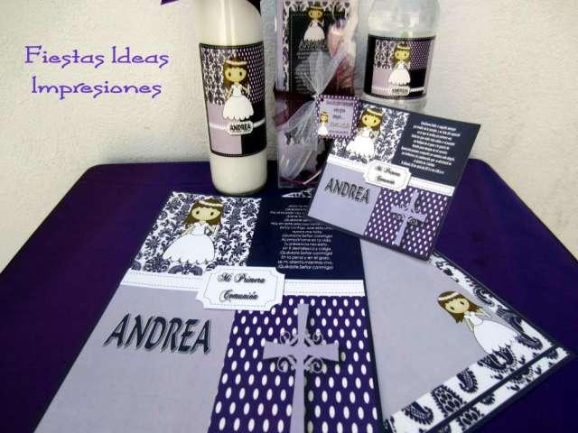 invitaciones de primera comunion en monterrey