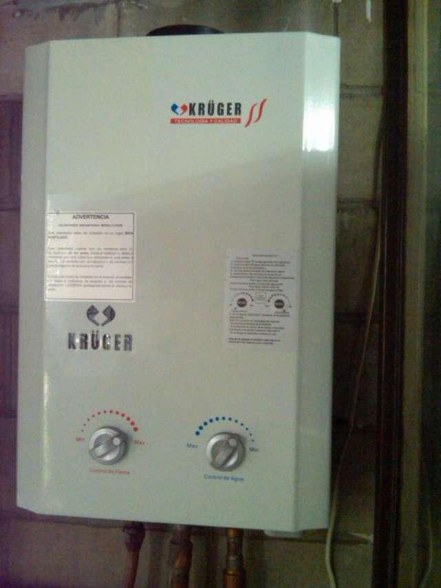 Reparación calentadores de agua, kruge.indugas, ascot bosch tektino,