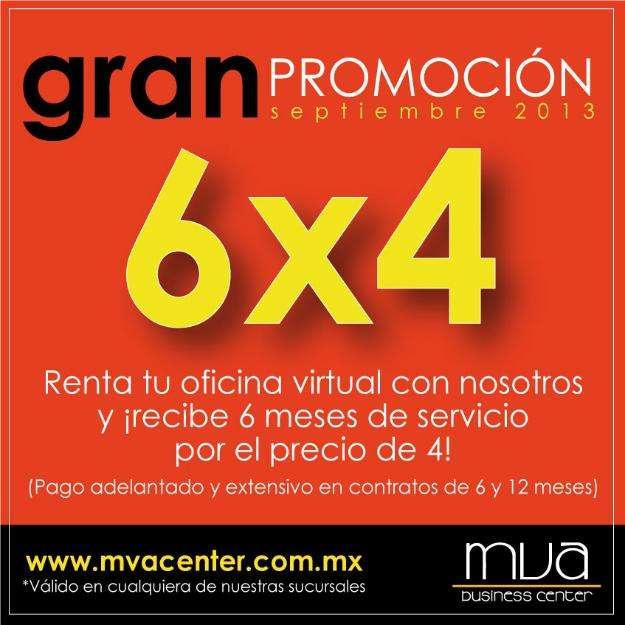 Oficinas virtuales en promoción 2 meses gratis