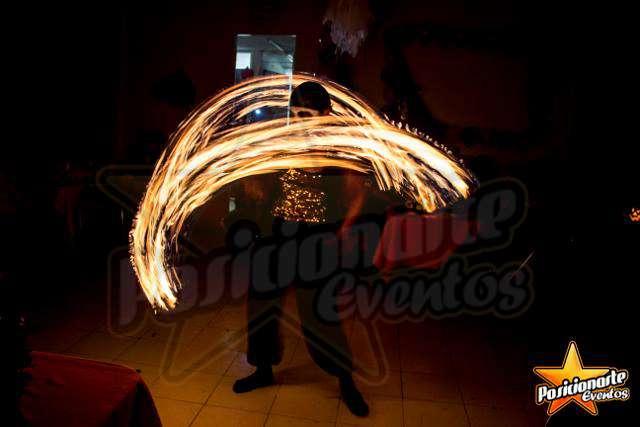 Show de fuego para fiestas y eventos