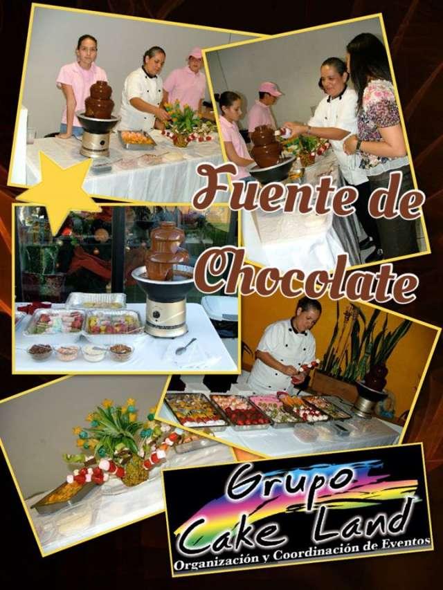 Fuente de chocolate para todo tipo de eventos