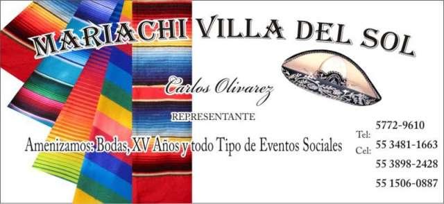 Mariachis en alvaro obregon para fiestas 5534811663
