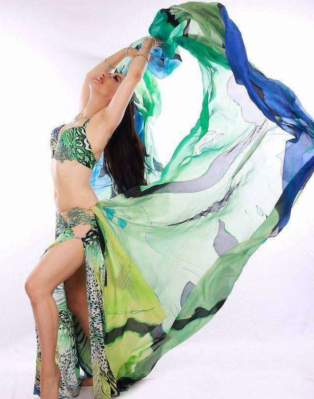 Clases de danza árabe tribal fusión y ats en guadalajara