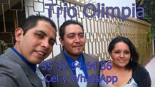 Trios musicales contratar mexico df