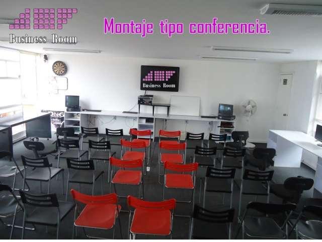 Salón / aula en renta para cursos, juntas, capacitaciones, etc