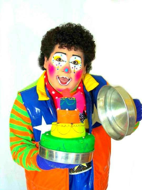 Payasito d`tv fiestas show de magia infantil