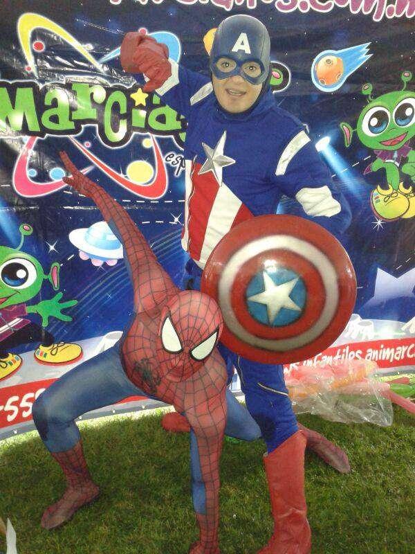 Show liga de la justicia / super héroes