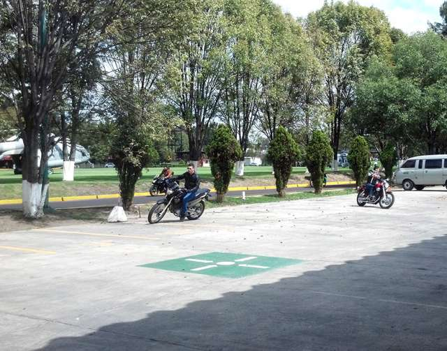 Aprender a andar en moto