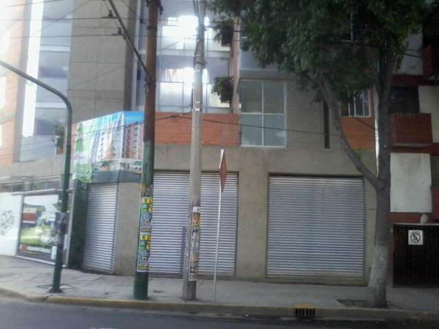 Local comercial en esquina dr. vertiz y dr. márquez