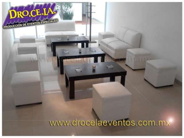 Paquete de 30 taburetes lounge para tu fiesta!!!