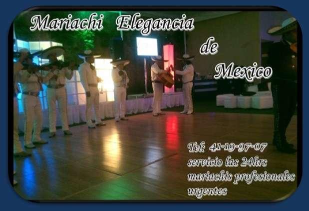 Telefono de mariachis urgentes serenatas tel- 41199707