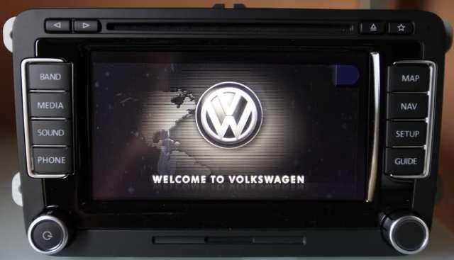 Auto estereo rns 510 navegador gps dvd bluettoh video en movimiento liberado oem