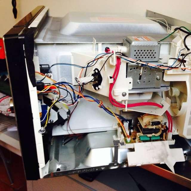 Reparación de hornos de microondas