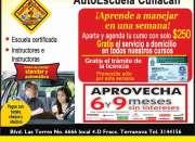 escuela de manejo culiacan ANIMATE!!!