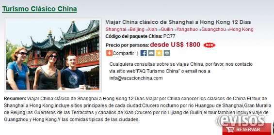 Viajar china clásico de shanghai a hong kong 12 dias