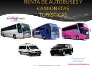 Renta de Autobuses y Camionetas Econòmicos
