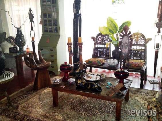Muebles de indonesia, india, remato en paquete o piezas